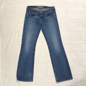 Big Star Sweet Ultra Low Rise Jeans sz 30S